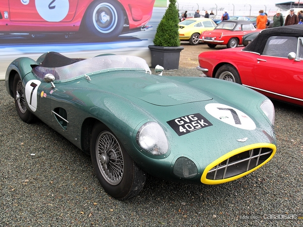 Photos du jour : Aston Martin DBR1 (Le Mans Classic)
