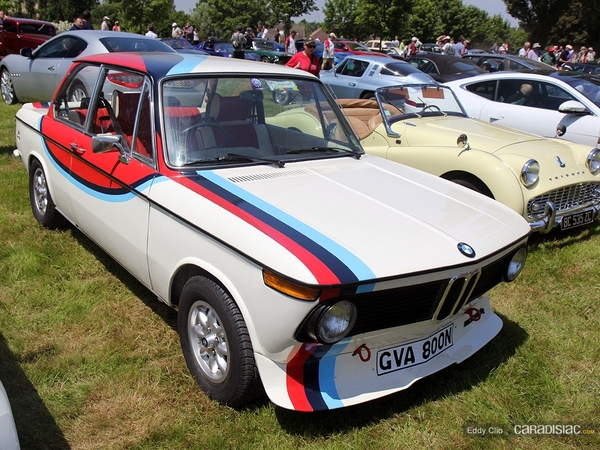 Photos du jour : BMW 2002 Tii (Le Mans)