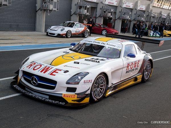 Photos du jour : Mercedes SLS GT3 (Exclusive Drive)