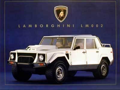 Lamborghini aura (aussi) son SUV, le LM00X, et dès 2012!