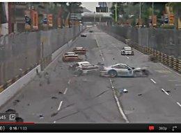 [vidéo] Enorme crash en GT Cup à Macao