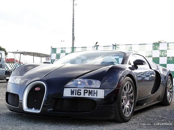 Photos du jour : Bugatti Veyron (Le Mans Classic)