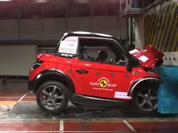 Crash-tests : les voitures sans permis pas très sûres