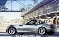 Future BMW Z4 en balade