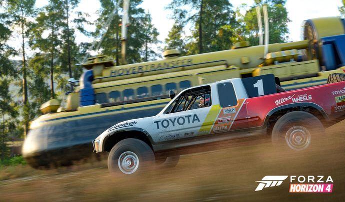 Test Forza Horizon 4, la clef des champsanglaise