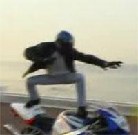 Vidéo moto : Stunt de Nice