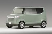 L.A Auto Show: Honda Step Bus. Gros cube.