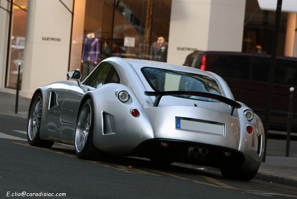 Photos du jour : Wiesmann GT MF5