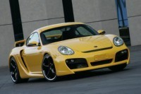 Porsche Cayman S Widebody kit by TechArt