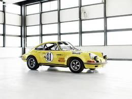 Techno Classica 2016 : Porsche ressuscite une 911 des 24 Heures du Mans 1972