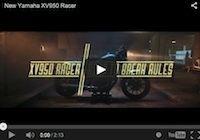 Yamaha XV950 Racer... en vidéo