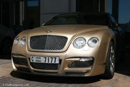 Photos du jour : Bentley Continental GT ASI