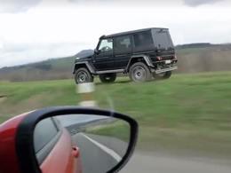 Insolite : il double une voiture à 100 km/h par le bas-côté