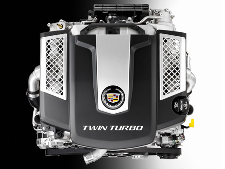 Cadillac: un V6 3,6 litres biturbo de 420 ch en approche