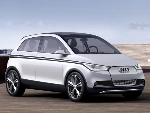 Audi préparerait une A2Q entièrement électrique pour 2018