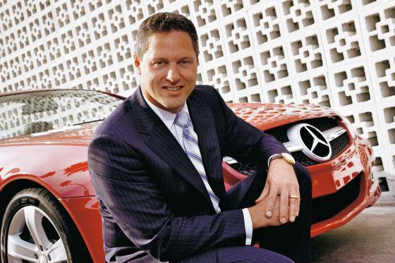 Cap jeune pour le design Mercedes : Gordon Wagener est l'élu