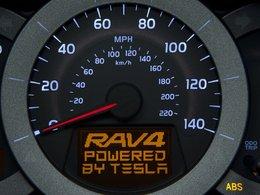 Salon de Los Angeles 2010 : le Toyota RAV4 électrique se dévoile petit à petit