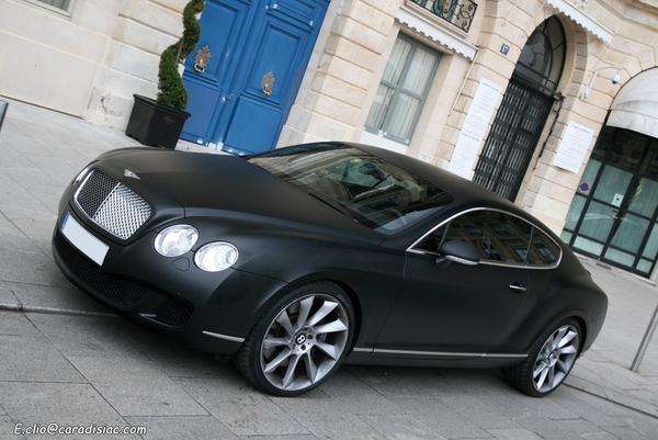 Photos du jour : Bentley Continental GT