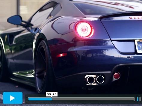 Ferrari 599 GTX SP Engineering : une ligne en titane pour faire (encore) plus de bruit