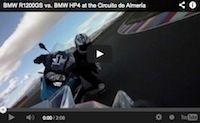 Quand une BMW R1200 GS provoque une S1000 RR HP4... (vidéo)