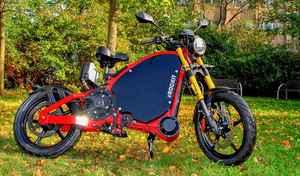 eRockit: une curieuse moto électrique à pédales