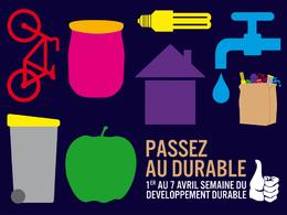 Semaine du Développement durable 2008 : la production et la consommation durables à l'honneur