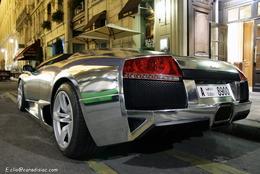 Photos du jour : Lamborghini Murcielago Roadster Chromée
