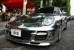 Photos du jour : Porsche 997 Turbo Chrome
