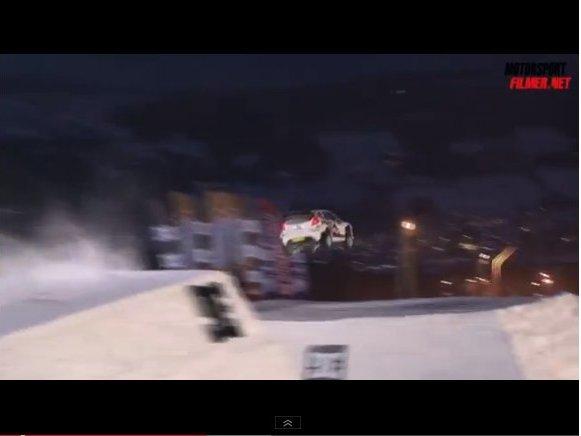 Mads Ostberg bat le record du saut le plus long sur neige