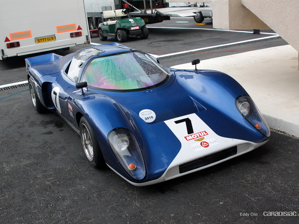 Photos du jour : Chevron B16 1969 (10000 tours du Castellet)