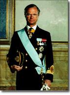 Le roi de Suède plie sa BMW
