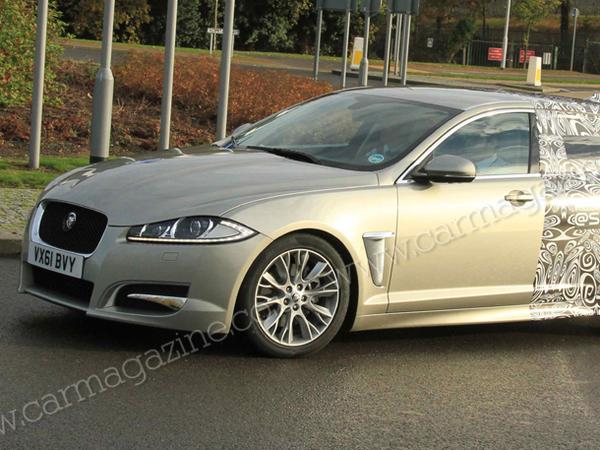 La future Jaguar XF Sportbrake pointe le bout de son nez!