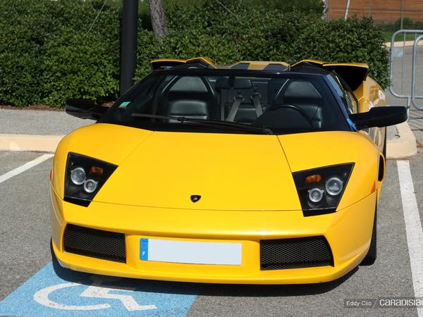 Photos du jour : Lamborghini Murcielago Roadster (10000 tours du Castellet)