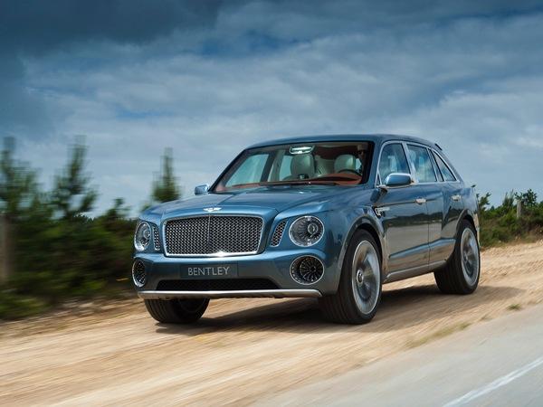 Le SUV Bentley entrera en production en 2015