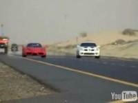 La vidéo du jour : Ferrari Enzo versus Mercedes SLK-R