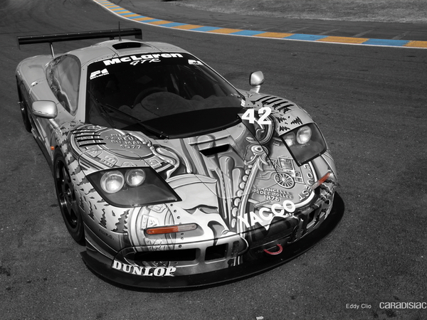 Photos du jour : Mc Laren F1 GTR by César (le Mans Classic)