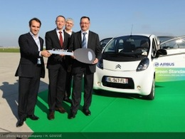 Les salariés d'Airbus bénéficient désormais de l'autopartage électrique