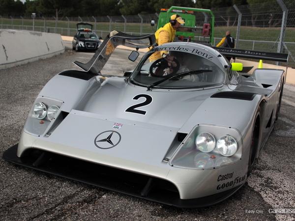 Photos du jour : Mercedes Benz C11 (10000 tours du Castellet)
