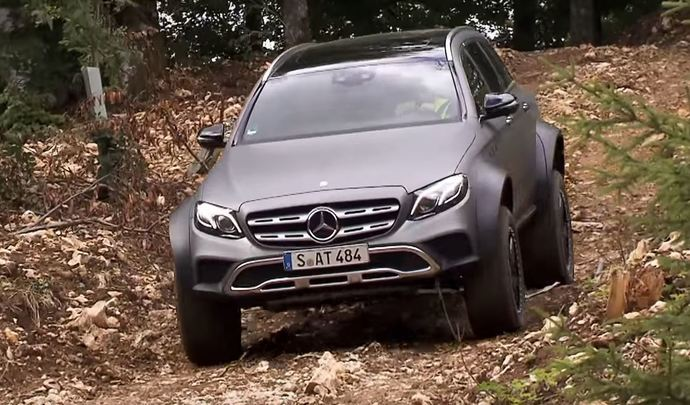 Mercedes Classe E All-Terrain² : un break qui n'a peur de rien
