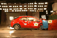 Crash test: La Honda Civic rate et irrite Euro Ncap