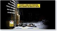 Campagne de sensibilisation par la Sécurité routière