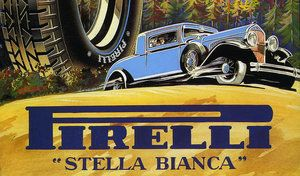 """Pirelli relance un pneu """"à plis croisés"""" pour les anciennes voitures"""