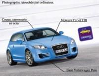 La future Audi A1 à Bruxelles