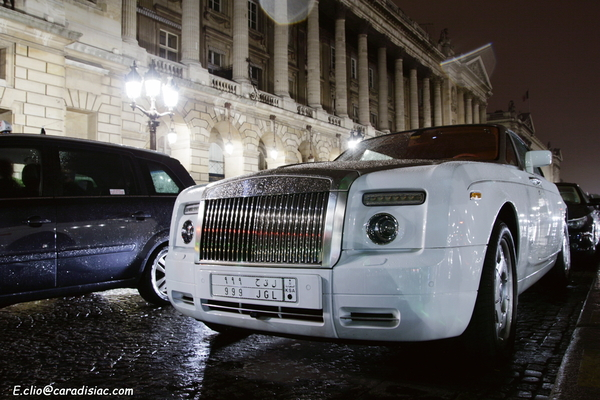Photos du jour : Rolls-Royce Phantom Drophead Bel Air by Mansory