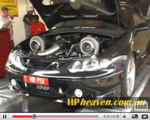 Réveil Auto : Holden + VU SS Ute + HP-F = 1731ch [Vidéo]
