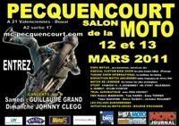 Salon de la Moto de Pecquencourt (59) les 12 et 13 mars 2011