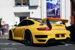 Photos du jour : Porsche 997 Turbo kit Techart GT Street