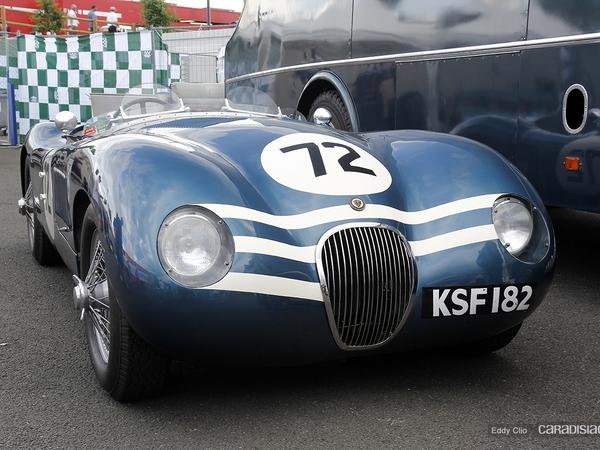 Photos du jour : Jaguar Type C (Le Mans Classic)