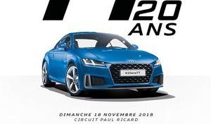Audi va fêter les 20 ans de la TT au circuit Paul Ricard