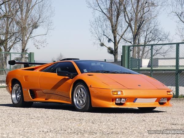 Photos du jour : Lamborghini Diablo VT (Cars & Coffee Paris)
